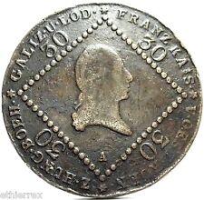Austria (Francesco II) 30 Kreuzer 1807-A