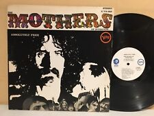 Mothers Of Invention Zappa Absolutely Free LP 1967 Verve V6-5013 White Label