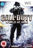 Call of Duty - World at War For PAL Wii (New & Sealed)