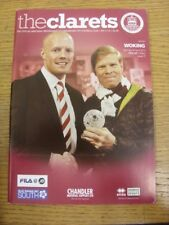 28/04/2012 Chelmsford City v Woking  . Any faults with this item should already