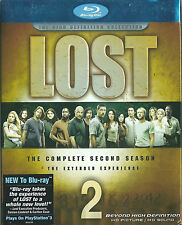 LOST Complete Second Season 2 Blu Ray RA UNRATED Ed 7-DVDs NEW & Sealed