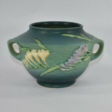Vintage Roseville Pottery Freesia Green Bowl 463-5