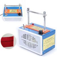 Electric Hot Knife Rope Cutter Heating Cord Tape Cut Machine 35W 110V 50-300℃ US