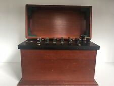 Leeds and Northrup Capacitor Box with Wood Case - 1930s (511610) - Rare