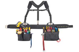 CLC Custom Leathercraft 1608 Electrician's Comfort Lift Combo Tool Belt