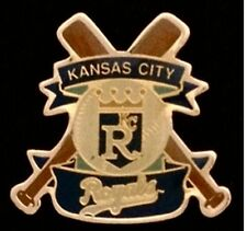 Kansas City Royals Baseball Pin Badge ~ MLB ~ Cross Bats