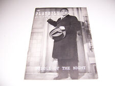 1956 ANTA THEATRE PLAYBILL - MIDDLE OF THE NIGHT - EDWARD G ROBINSON G ROWLANDS