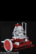 Affettatrice a volano pieno lama mm 370 manuale Fac rossa nuova tipo Berkel