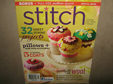 NEW! Interweave STITCH Winter 2012 32 Projects DIY Makes Pattern Coats Wool $15
