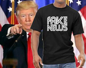 Fake News Communist News Network Donald Trump T-shirt