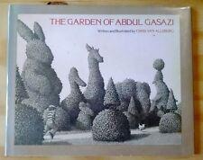 Chris Van Allsburg, GARDEN OF ABDUL GASAZI, 1st Ed, Caldecott Honor, Signed