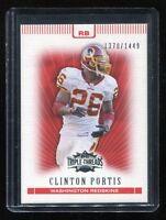 2007 Topps Triple Threads #38 Clinton Portis (Washington Redskins) #d 1370/1449