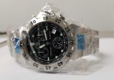 Burett Neo Abyss Men's Chronograph Black Dial Stainless Steel Watch AS06005