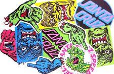 Santa Cruz Skateboards Stickers 5 Pack Assorted FREE POST Skate decal