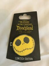 Nightmare Before Christmas NBC In Disneyland Event Pin Hinged Jack Face LE1000