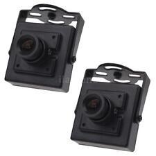 "2X HD 700TVL 1/3"" CMOS NTSC 3.6mm MTV Board Lens Mini CCTV Video FPV Camera US"