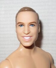 NUDE KEN ~ BLONDE PRINCE WILLIAM ROYAL WEDDING ARTICULATED MODEL MUSE FOR OOAK