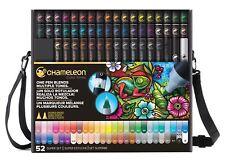 Chameleon Color Tones Pen Set Alcohol Blending Gradient - 52 Pen Deluxe Set