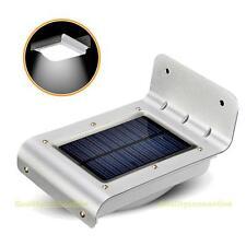 16LED Solarlampe Solarleuchte Wandleuchte Mit Lichtsensor Voice Control Außen