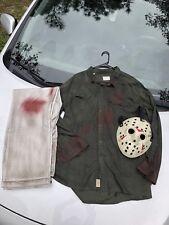 Jason Voorhees Part 3 Mask, Shirt And Pants 3pc Set High Qual read Discription)