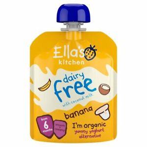 Ella's Kitchen Dairy Free Banana, Apples & Coconut Yoghurt 6 months+