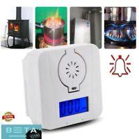 CO Gas Sensor Detector Carbon Monoxide and Smoke Alarm Detectors LED Display