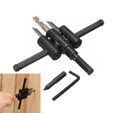 30mm-120mm Drill Bit Cutter Kit Metal Wood Circle Hole Saw DIY Tool Rakish