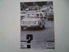 advertising Pubblicità 1963 INNOCENTI MORRIS IM3 IM 3