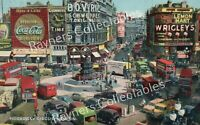 PICCADILLY CIRCUS, LONDON.. Collectable Postcard - B1/87