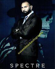 Dave Bautista Hinx Villian Spectre James Bond 007 Autograph UACC RD96