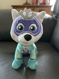 Paw Patrol Mighty Pups Super Paws Everest 8-Inch Plush NEW Frozen Theme