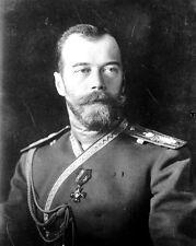 New 8x10 World War I Photo: Nicholas Romanov II, Last Czar of Russia