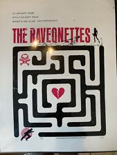 The Ravonettes Limited Edition Silkscreen Concert Poster Lil Tuffy San Francisco