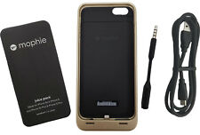 "Mophie Juice Pack 60% Funda para Batería 2600mAh Apple IPHONE 6 6S Plus 5.5"" Oro"