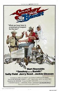 Smokey and the Bandit movie poster (a)  - 11 x 17 - Burt Reynolds