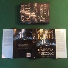 Stephen KING - LA TEMPESTA DEL SECOLO Sperling Paperback (1° Ed 2000) Libro OTT