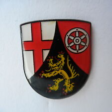Rhineland-Palatinate Emblem Pin, Coat Of Arm, Germany Rhineland-Palatinate