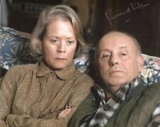 More details for annette crosbie & richard wilson signed one foot in the grave comedy photo