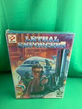 Lethal Enforcers Sega CD - NEW SEALED Includes Justifier Gun and Games