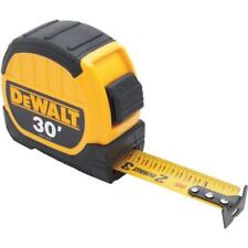 "(24)-DeWalt 30' X 1-1/8"" Wide Blade SAE Locking Tape Measure DWHT36109"