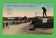 Dated 1925. The Surfboat Memorial and Marine Terrace, Margate, Kent.