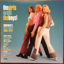 THE GIRLS WANT THE BOYS! Sweden's Beat Girls 1964-1970 Yé-Yé 60s Mod Girlgroups►