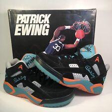 Patrick Ewing Wrap Black Baltic Blue Green Orange Hi Size 12 1EW90103-968
