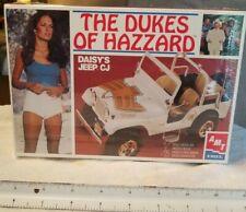 Vintage AMT The Dukes of Hazzard Daisy's Jeep CJ Model Kit SEALED 1:25 NICE