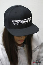 "Rays ""Volk Racing Original"" Wheel Snapback Hat Cap Limited - Black"