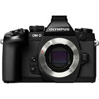 Olympus OM-D E-M1 Mirrorless Micro 4/3 (Black, Body Only) V207010BU000RB