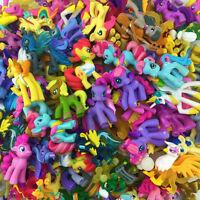 Random 10Pcs Hasbro MLP Little Pony Toys Friendship is Magic Figure Toy Doll
