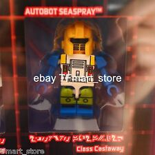 SDCC 2015 Excl. SEASPRAY Kreon Class of 1985 Kreo Transformers Lego - Loose