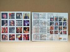 Mega Rare Bon Jovi On Cover Only Singapore CD FCS7666
