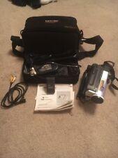 Samsung VP-W80U PAL Hi8 8mm Camcorder Video Camera, charger, Case